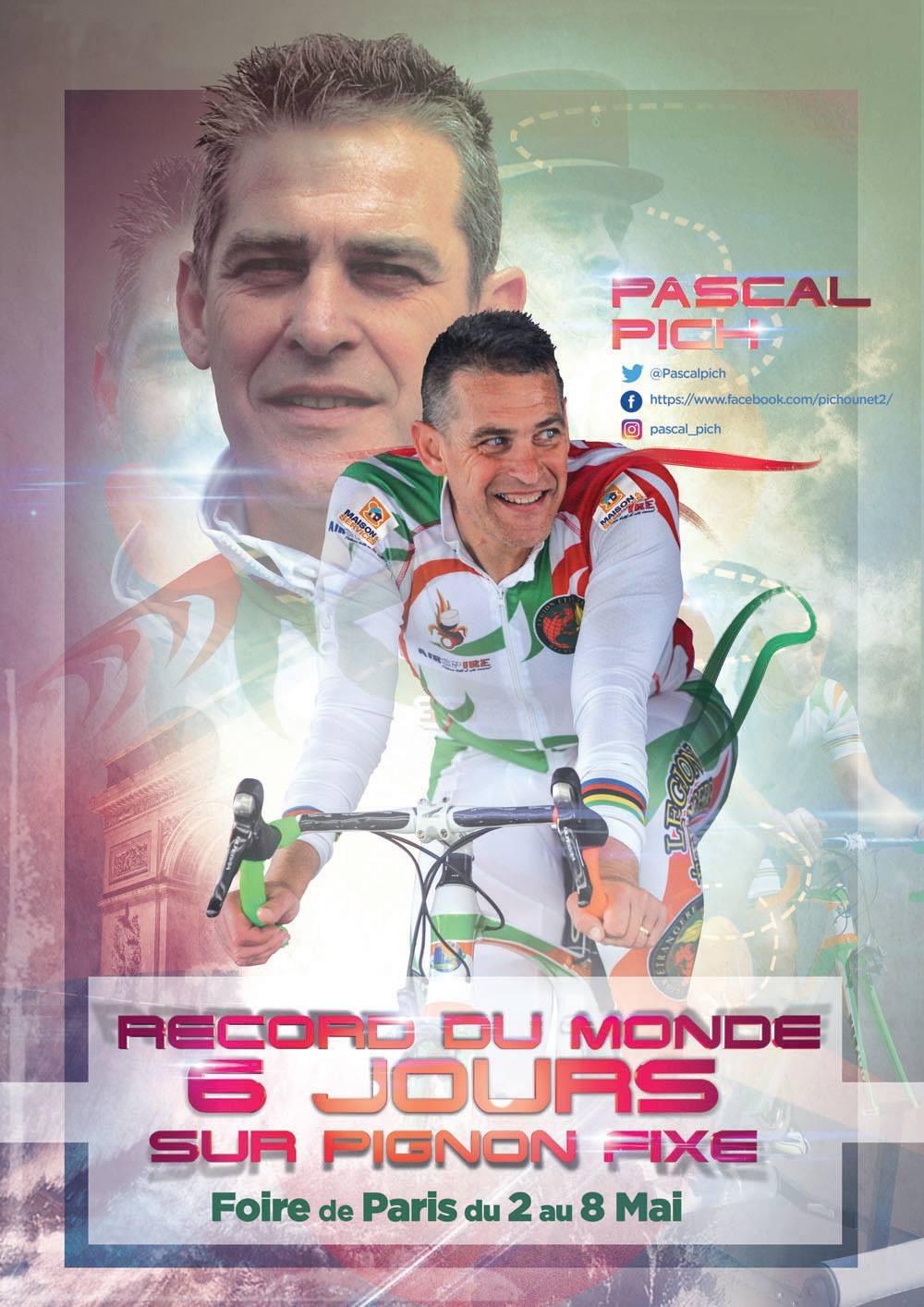 Pascal Pich, Foire de Paris, Record du Monde